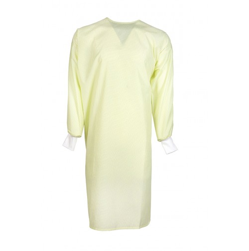 Level II Isolation Gown by Pinnacle, Yellow