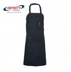 Pinstripe Bib Apron by Pinnacle