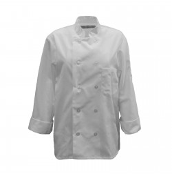 C390 Pinnacle White Chef Coat