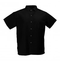Chef Trend S102 Black Cook Shirt