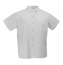 Pinnacle S302 White Cook Shirt