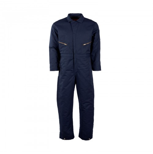 CV30NV Navy Insulated Coverall by Pinnacle Textile
