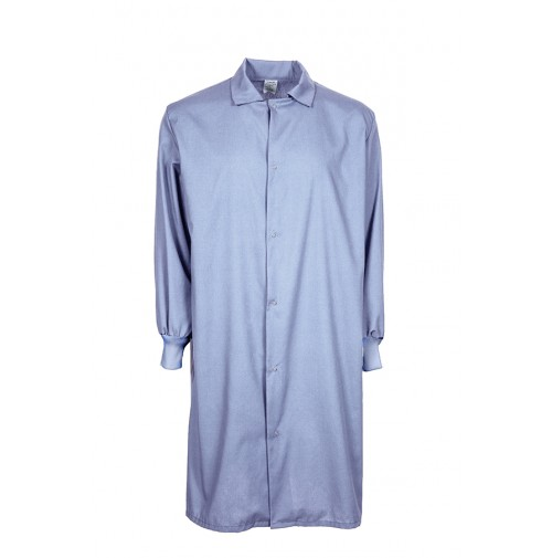F182 Light Blue Medical Cover Up Lab Coat