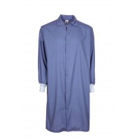 F182 Gulf Blue Medical Cover Up Lab Coat