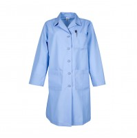 L17F Light Blue Female Lab Coat