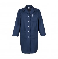 L17F Navy Blue Female Lab Coat