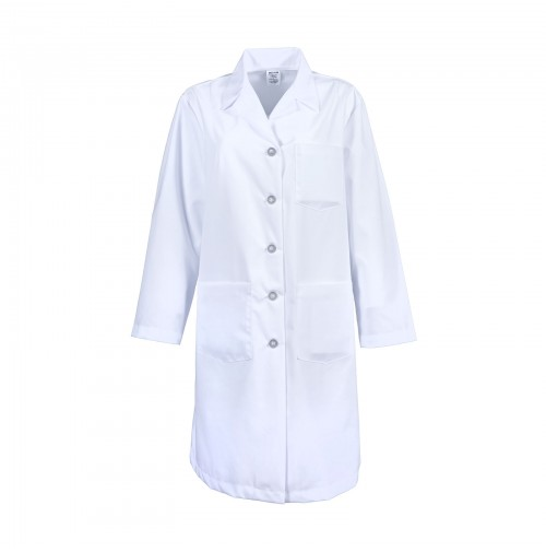 L17F White Female Lab Coat