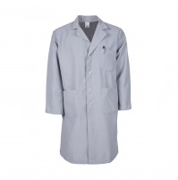 L17M Grey Men's Lab Coat