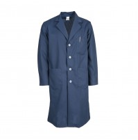 L17M Navy Blue Men's Lab Coat