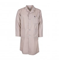L17M Tan Men's Lab Coat