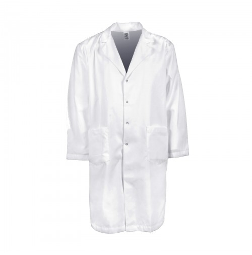 L18M Men's Gripper Snap Lab Coat