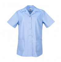 Ladies Tunic Smock, Light Blue