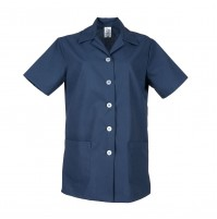 Ladies Tunic Smock, Navy Blue