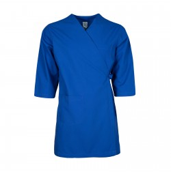 Smock Wrap Gown, 3 Pocket, Royal Blue