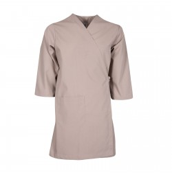 Smock Wrap Gown, 3 Pocket, Tan