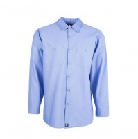 S10GB Men's Industrial Work Shirt, Gulf Blue