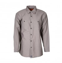 S10GG Men's Industrial Work Shirt, Graphite Gray