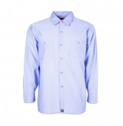 S10LB Men's Industrial Work Shirt, Light Blue