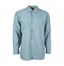 S10MG Men's Industrial Work Shirt, Mint Green
