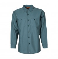 S10SP Men's Industrial Work Shirt, Spruce Green