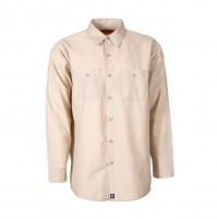 S10TA Men's Industrial Work Shirt, Tan