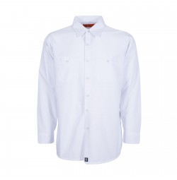 S10WH Men's Industrial Work Shirt, White