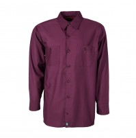 S10WI Men's Industrial Work Shirt, Wine