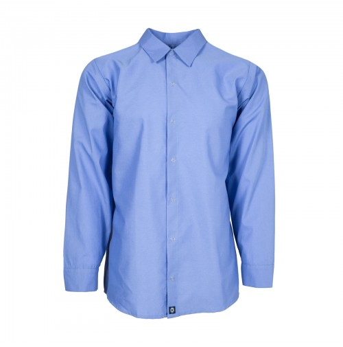 S14GB Men's Long Sleeve Work Shirt, Gulf Blue
