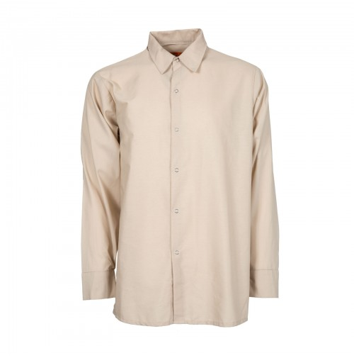S14TA Men's Long Sleeve Work Shirt, Tan