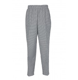 B35 Pinnacle Check Baggy Chef Pant
