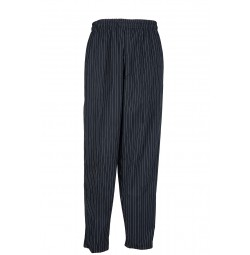 B35 Pinnacle Pinstripe Baggy Chef Pant
