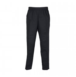 B86 Pinnacle Black Unisex Baggy Chef Pant