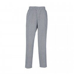 B86 Pinnacle Houndstooth Unisex Baggy Chef Pant
