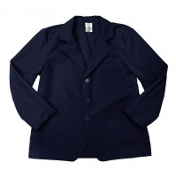 Lapel Counter Coat, Navy Blue