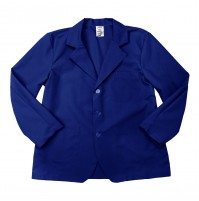 Lapel Counter Coat, Royal Blue