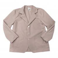 Lapel Counter Coat, Tan