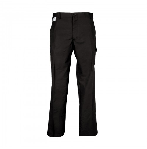 P24BL Men's Cargo Industrial Work Pant, Black