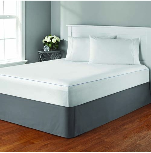 Mainstays Cooling Comfort Luxury Fitted Mattress Protector