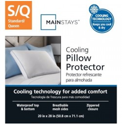 Mainstays Cooling Pillow Protector