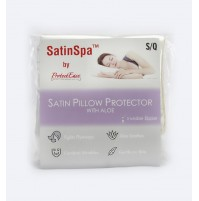 Protect-Ease Satin Pillow Protector with Aloe