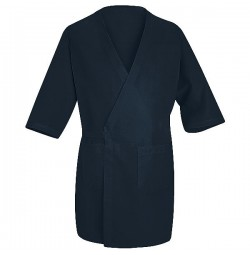 Red Kap® WP10NV Navy Blue Collarless Butcher Wrap