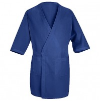 Red Kap® WP10RB Royal Blue Collarless Butcher Wrap