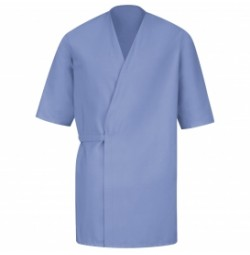 Red Kap® WP18LB Light Blue Collarless Butcher Wrap