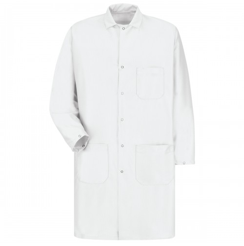 Red Kap KK28WH ESD/Anti-Static Tech Lab Coat, White