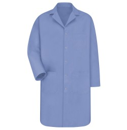 Men's Red Kap® Light Blue Lab Coat KP18LB