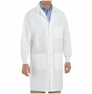 Red Kap KP70WH Unisex Specialized Cuffed Lab Coat