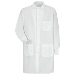 Red Kap KP72WH Unisex Specialized Cuffed Lab Coat