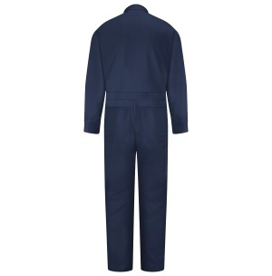 Red Kap CC14NV Snap Front Cotton Coveralls, Navy