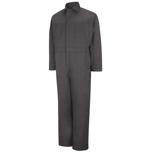 Red Kap CT10CH Twill Action Back Coveralls, Charcoal