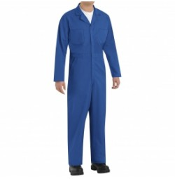 Red Kap CT10EB Twill Action Back Coveralls, Electric Blue